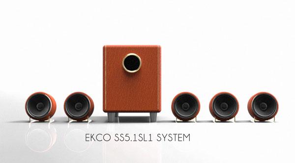 ECKO-SS5.1SL1 дизайнерская акустическая система