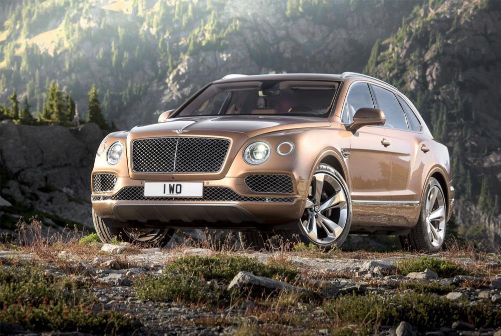 Bentley Bentayga: самый — самый внедорожник
