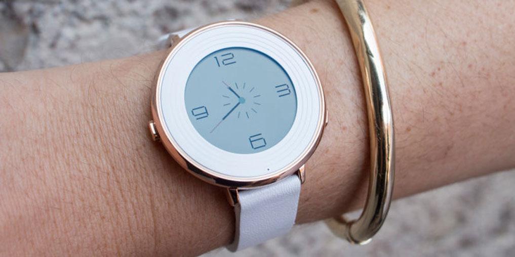 PEBBLE TIME ROUND: самые тонкие смарт-часы