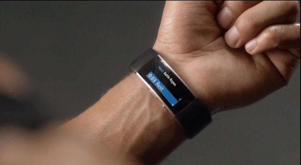 Microsoft Band: фитнес-трекер